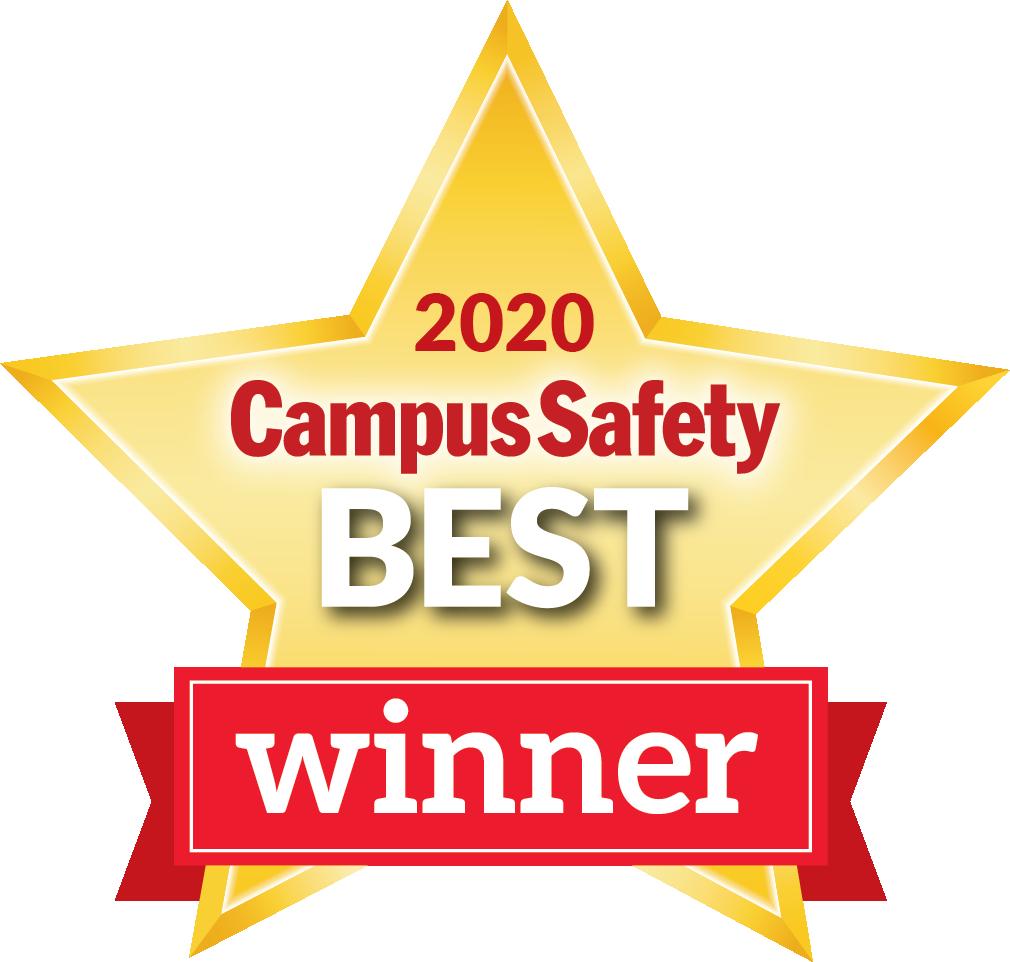 Campus safety best award winner