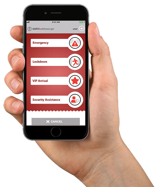Hospitality technology to help with emergency alerting