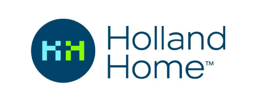 The logo for Holland Home