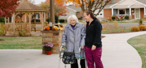Bridgewater Retirement Community, a resident and a caretaker